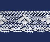 Renda de algodão 045 mm Ipiranga ref. 21 c/ 10 m