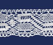 Renda de algodão 045 mm Ipiranga ref. 30 c/ 10 m