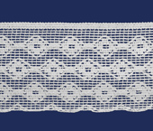 Renda de algodão 060 mm Ipiranga ref. 9721 c/ 10 m