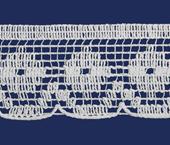Renda de algodão 043 mm FB ref. B523 c/ 30 m