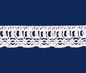 Renda de algodão 024 mm FB ref. B821 c/ 30 m