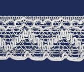 Renda de algodão 045 mm FB ref. B832 c/ 30 m