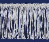 Franja de viscose branca FB c/ 10 m