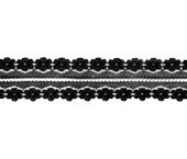 Renda de poliamida 030 mm Aduanity ref. RR011-030 por metro