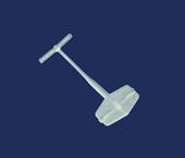 Pino plástico Dennison 13 mm ref. Fine Pin 15 c/ 5.000 un