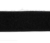 Velcro autoadesivo 25 mm Lulitex ref. FCA25-05 preto c/ 5 m
