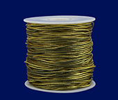Elástico metalizado 2 mm Lulitex ref. CDLE80250 c/ 50 m