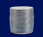 Cordão metálico 2,0 mm Lulitex ref. CDL80250 5428 c/ 50 m