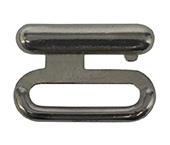 Fecho engate de metal 18 mm Fermoplast ref. AMF 002 c/ 100 uni