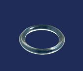 Argola de policarbonato 10 mm RG ref. 1000 c/ 1000 un