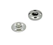 Colchete pressão p/ costurar de latão 10 mm Lulitex c/ 36 un