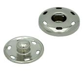 Colchete pressão p/ costurar de latão 19 mm Lulitex c/ 12 un