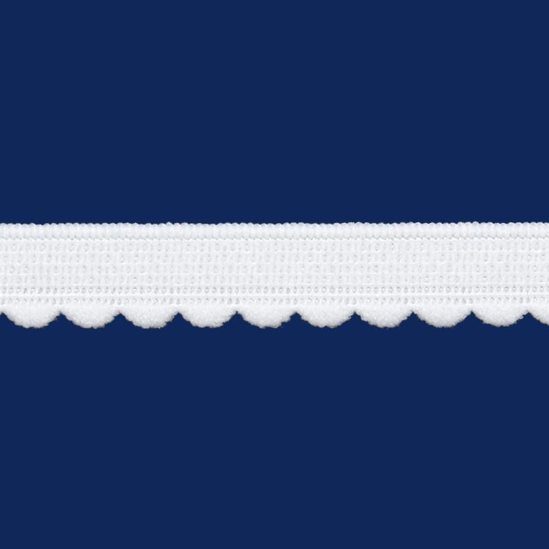 Elástico decorado 11 mm Zanotti ref. Tulipa c  50 m  55344b12921