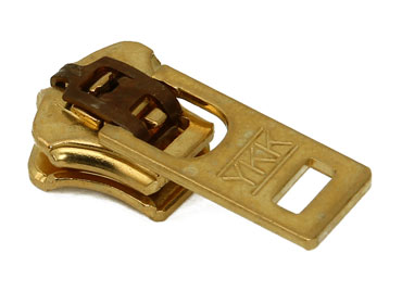 Cursor para zíper de metal 05 grosso YKK ref. 05 Y GS6 J dourado c/ 1 un
