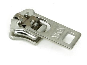 Cursor para zíper de metal 05 grosso YKK ref. 05 Y GS6 C5 antiníquel c/ 1 un