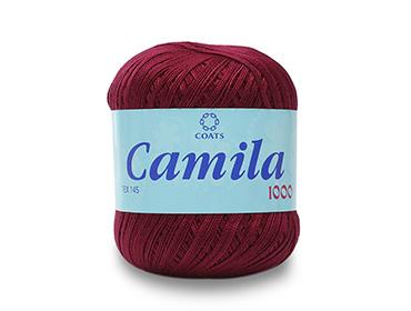 Linha para crochê e tricô Coats ref. Camila 1000