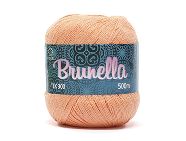 Linha para crochê Coats Ref. Brunella c/ 500 m