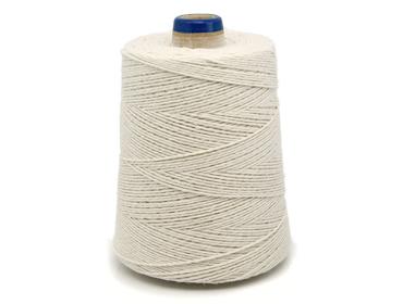 Barbante de algodão cru Bandeirantes ref. 4/6 c/ 700 g