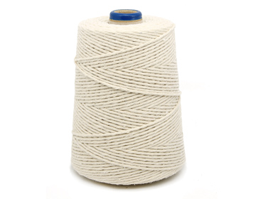 Barbante de algodão cru Bandeirantes ref. 4/12 c/ 700 g