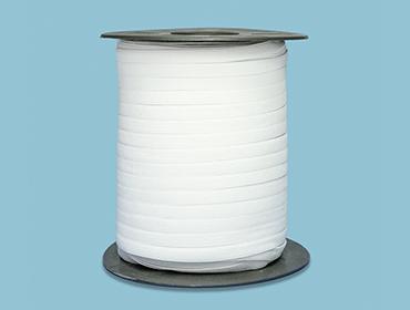 Elástico de embutir Estrela ref. R113 Hel 6,5 mm branco c/ 100 m