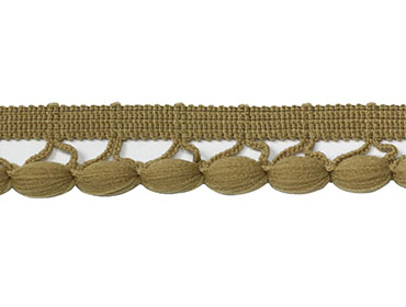 Fita rigida 17 mm crochet pompom São José ref. 7880/P c/ 10 m