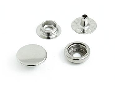 Botão de pressão ferro 13 mm Eberle ref. BT7.130.80.6.F c/ 200 un