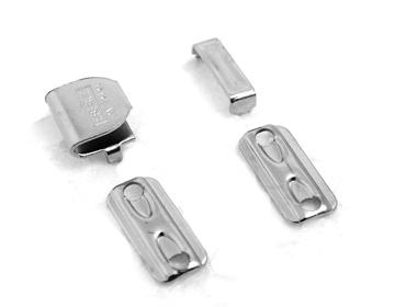 Colchete de ferro p/ aplicar de gancho Eberle ref. CC8.885.11.F c/ 200 un
