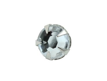 Enfeite de latão c/ pedra Eberle ref. GR.105.055.BR.L (EN 1110 L) c/ 1000 un