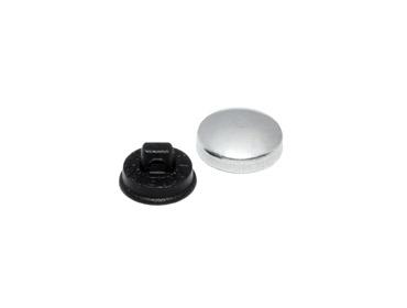 Botão para forrar Bombê Cardenas 12 mm c/ 144 un