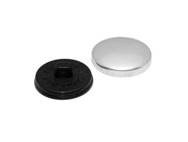 Botão para forrar Bombê Cardenas 22 mm c/ 144 un