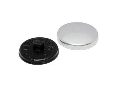 Botão para forrar Bombê Cardenas 24 mm c/ 144 un