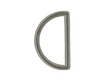 Meia argola zamac 30 mm Toscana ref. 3362/30 NI c/ 1 un
