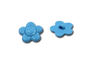 Botão para costurar de plástico 14 mm Ritas ref. margarida c/ 24 un
