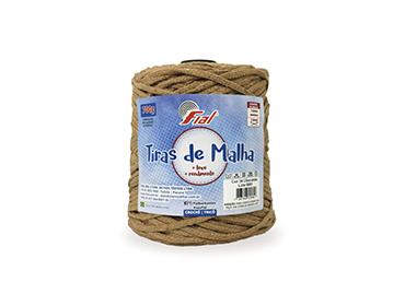 Tira de Malha Tradicional Fial ref. 34 chocolate c/ 242 m
