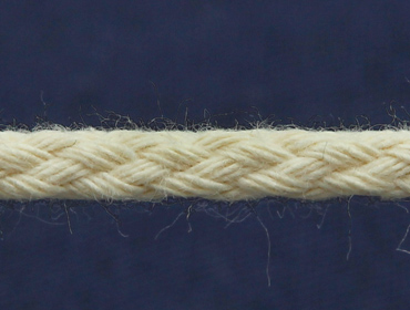 Cordão de algodão 04 mm cru Cordex ref. A2n c/ 50 m