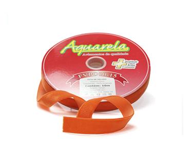 Fita de veludo Aquarela ref. FVPO10/467 - 15 mm c/ 10 m