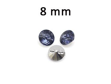 Botão decorado Aquarela ref. BU006-28 c/ 50 un
