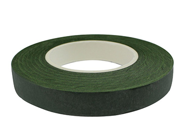 Fita floral 12 mm verde escuro Lulitex ref. FTF-12 c/ 2 un