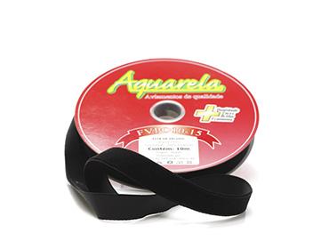 Fita de veludo Aquarela ref. FVPO10/31 - 15 mm c/ 10 m