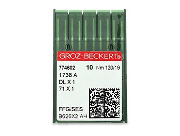Agulha para máquina Groz-Beckert ref. DBx1 1738A c/ 10 un