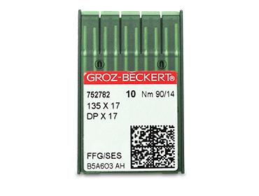 Agulha para máquina Groz-Beckert ref. DPx17 c/10 un