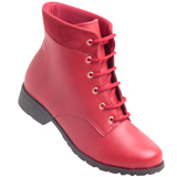 Bota feminina Vivaice 4587835 Vermelho