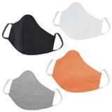 4 Mascara em Tecido Lavável Reutilizável