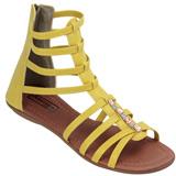 Sandália Gladiadora Atenas 1610 II Amarelo