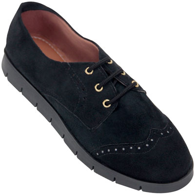 Sapato Oxford feminino Atenas 4006 Preto
