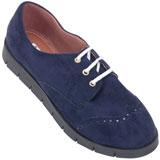 Sapato Oxford feminino Atenas 4006 Marinho