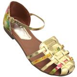 Sapato Oxford Feminino 4011VZ Caramelo