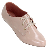 Sapato Oxford Feminino 4011VZ Bege