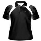 Camiseta polo Dunlop preta