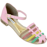 Sand�lia Feminina Fl�via 526 Rosa/Color